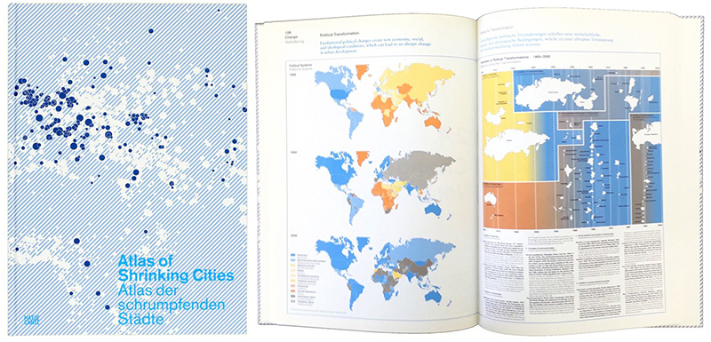 A daily dose of architecture more new metaphor books atlas of shrinking cities gumiabroncs Gallery