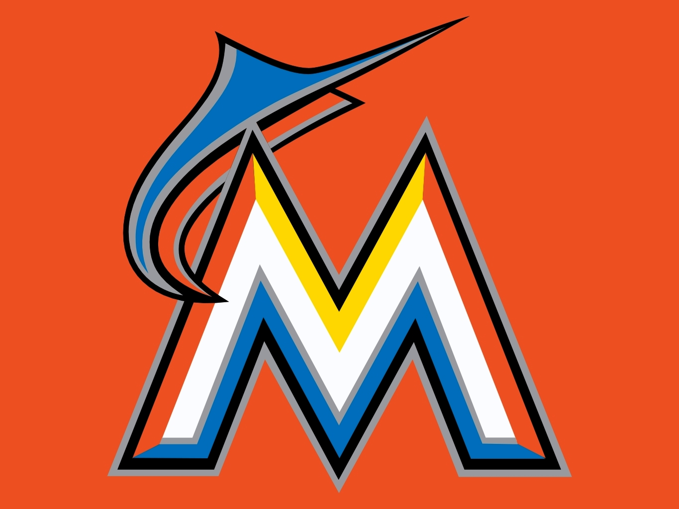 miami marlins coloring pages - photo#27