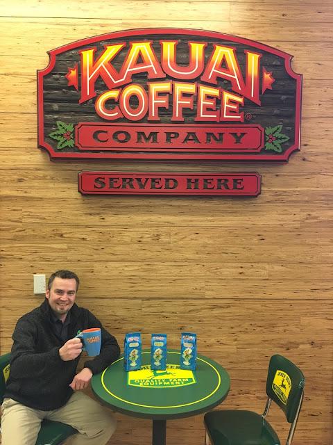 Kauai coffee company sign
