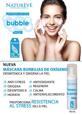 mascara burbujas natureve