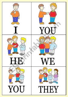 Personal Pronoun (Kata Ganti Orang)