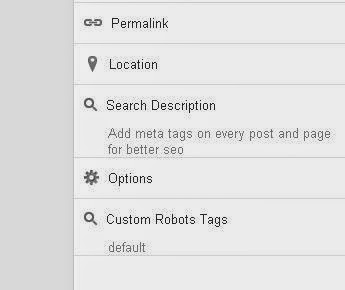 Add meta tags on every post and page for better seo