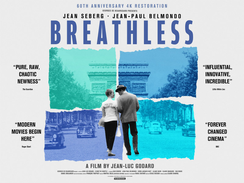 breathless 60th anniversary poster