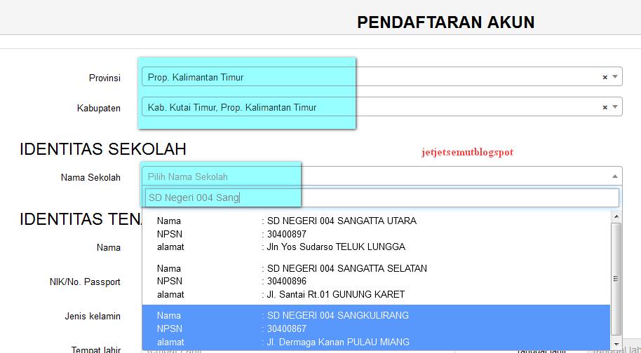 Cara Registrasi Aplikasi Dapotendik Info Guru