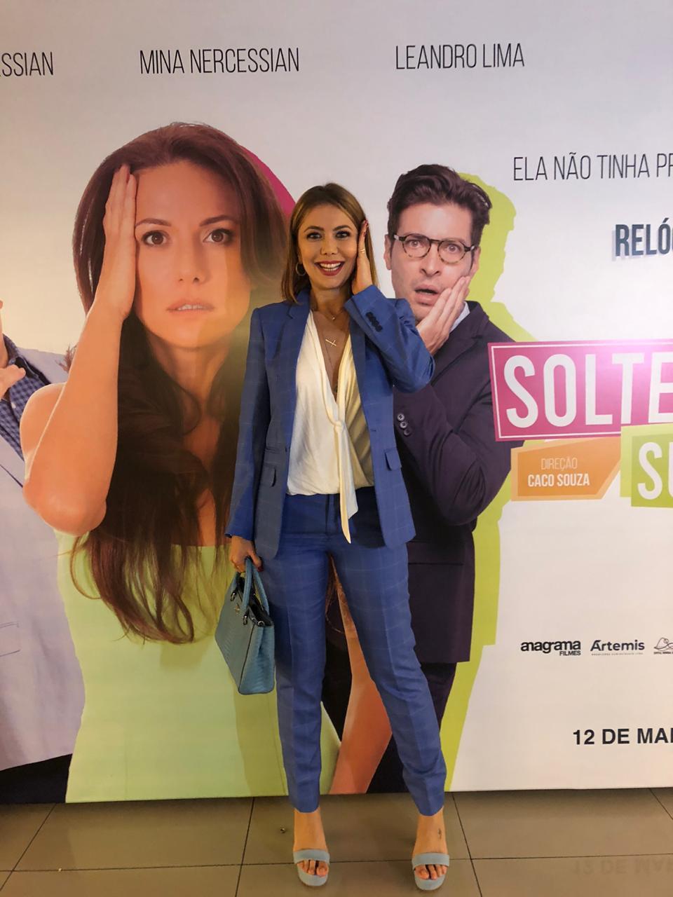 Simone Soares - filme Solteira Quase Surtando