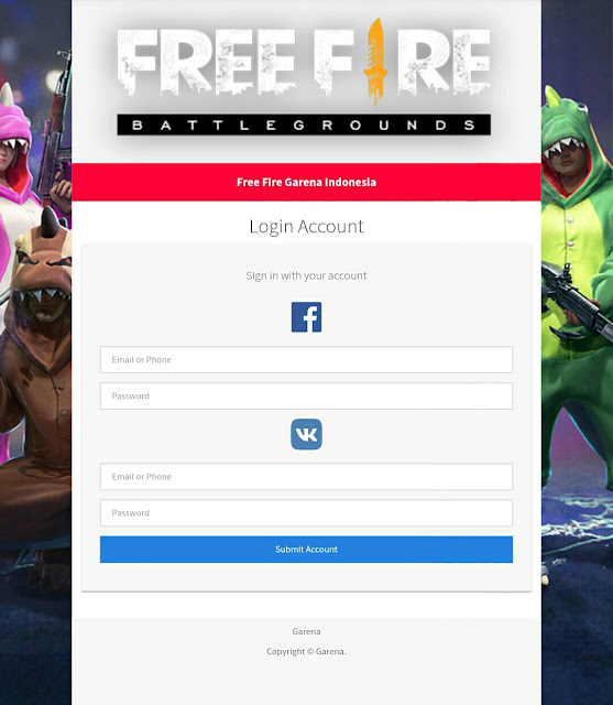 Script Phising Free Fire Event Bundle Terbaru