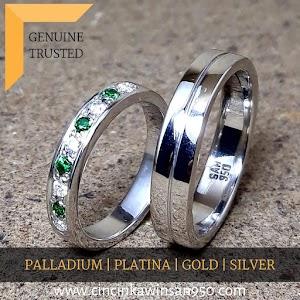cincin kawin platina couple 478