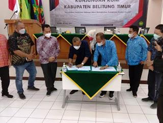 BEASISWA BAGI 40 ATLET BERPRESTASI KABUPATEN BELITUNG TIMUR.