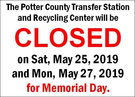 5-25/27 Recycling & Transfer Station Closed