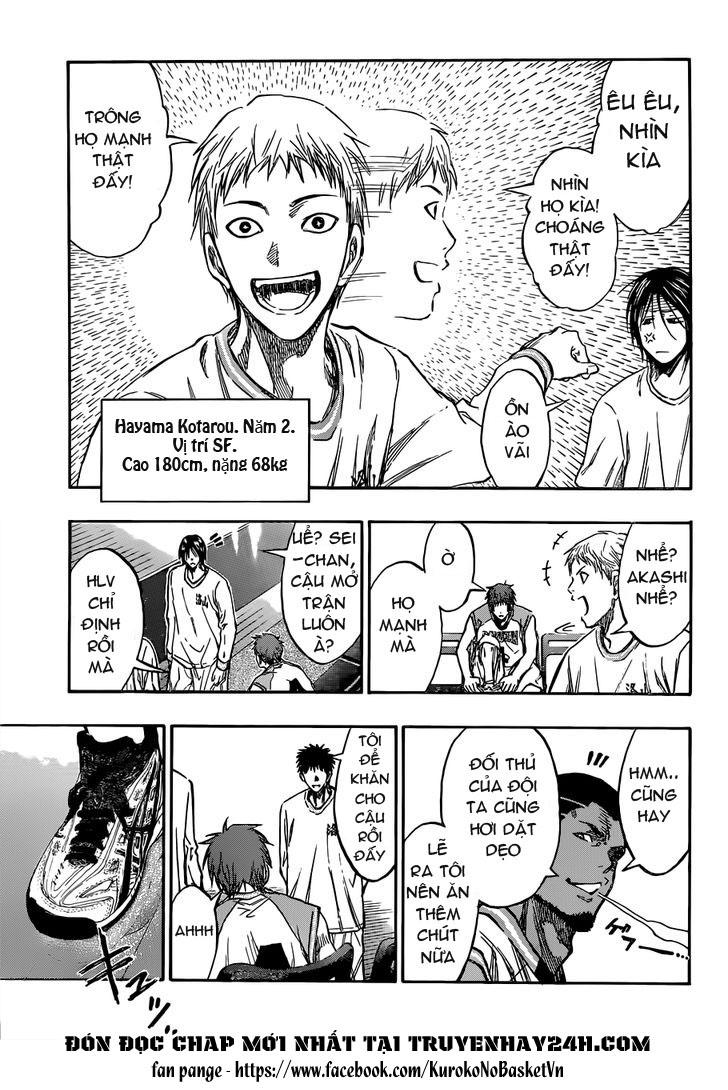 Kuroko No Basket chap 175 trang 7