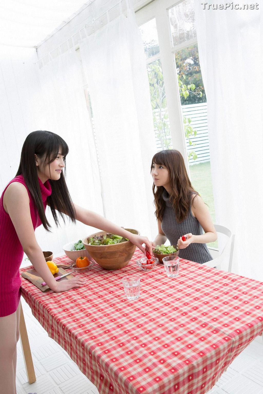 Image YS Web Vol.633 - Japanese Model - Yuki Kashiwagi & Anna Iriyama - TruePic.net - Picture-9