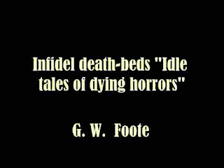 Idle tales of dying horrors