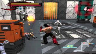 Gameplay Tekken 5 - Devil Within PS2