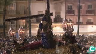 Jesús Nazareno subiendo la rampa de la SI Catedral. Semana Santa Cádiz 2019