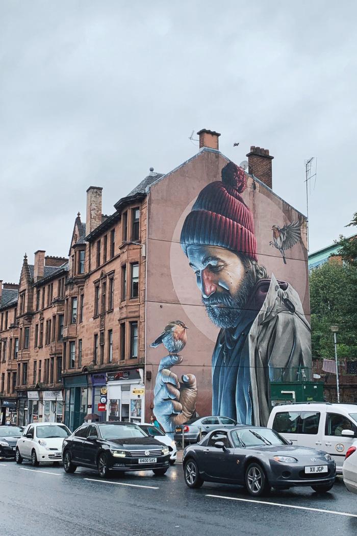 Visite de la ville de Glasgow