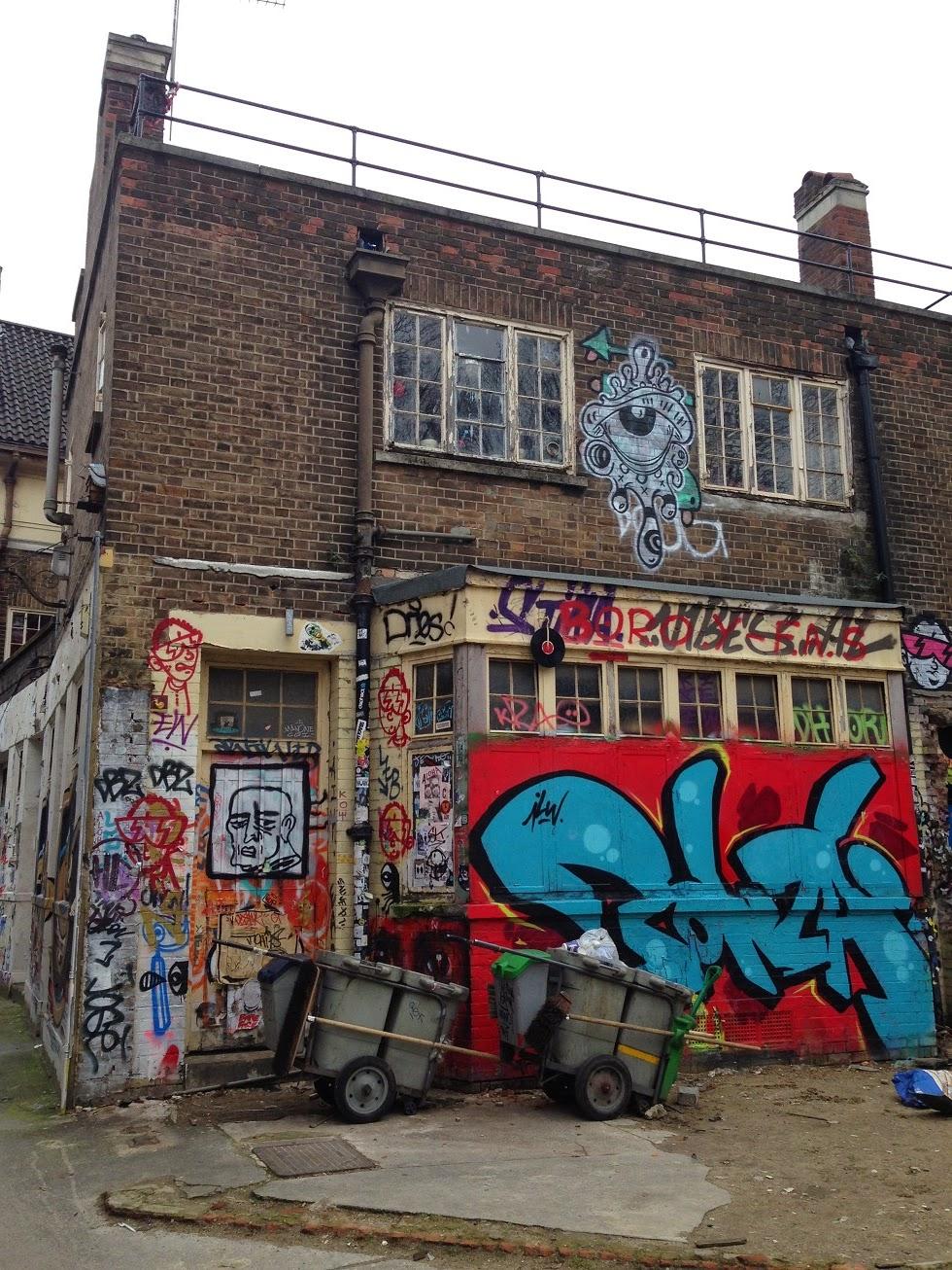 Shoreditch Street Art: Another Return Urban Wander Around Shoreditch, London