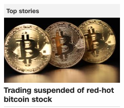 SEC Suspends Bitcoin Stock Trading December 19 2017 Is Not Money