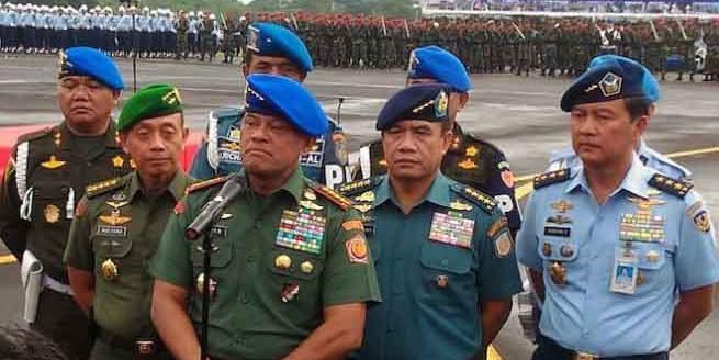 Panglima TNI Resmikan Satuan Siber TNI