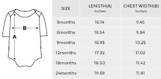 GOMAGEAR Baby Onesie Size