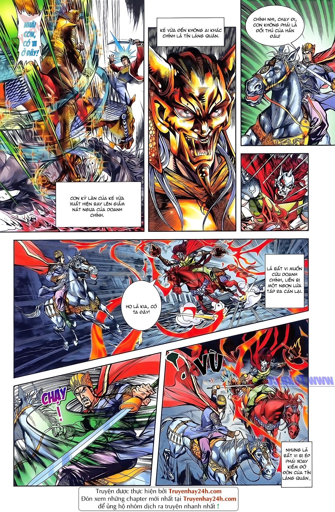 Tần Vương Doanh Chính chapter 49 trang 2