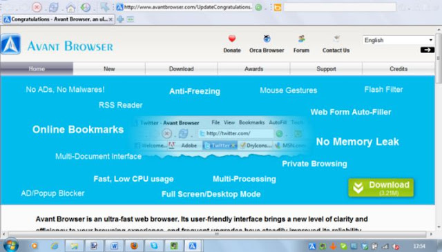 Avant Browser Latest Version