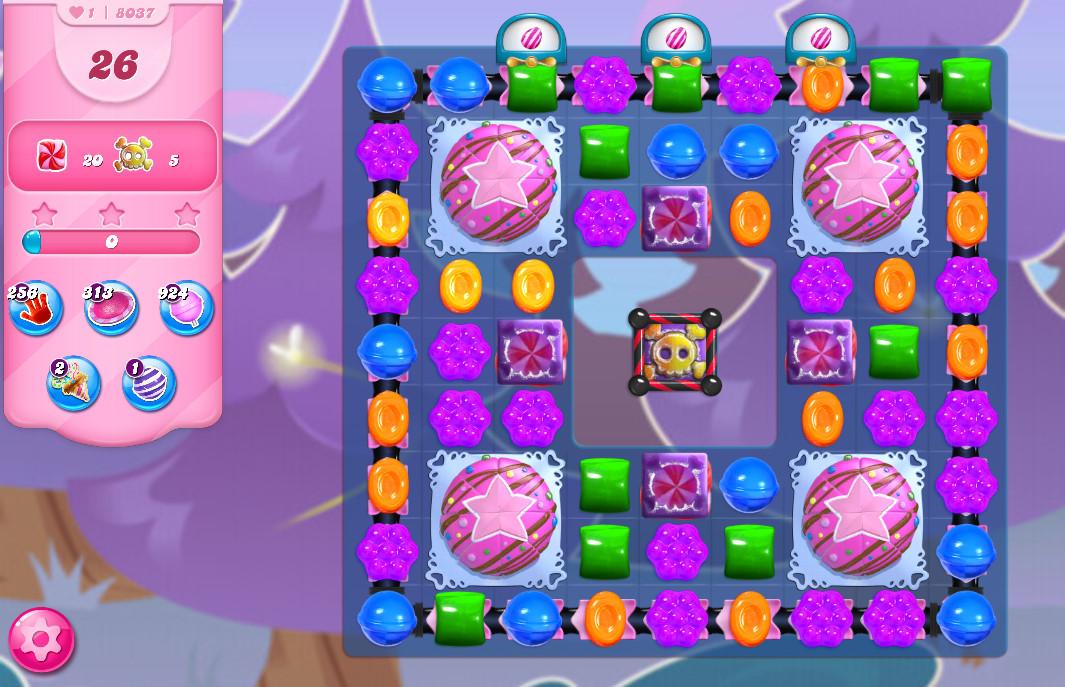 Candy Crush Saga level 8037