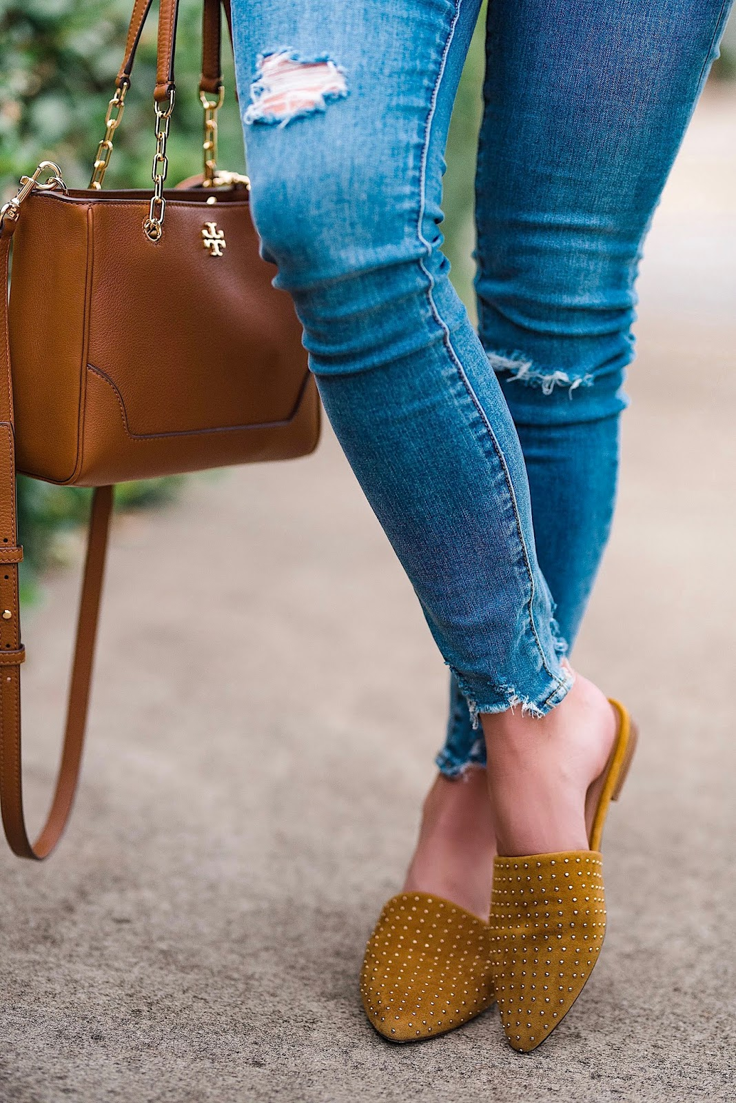Nordstrom Anniversary Sale Jeans & Mules - Something Delightful Blog
