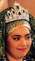 emerald tiara queen saleha brunei princess rashidah