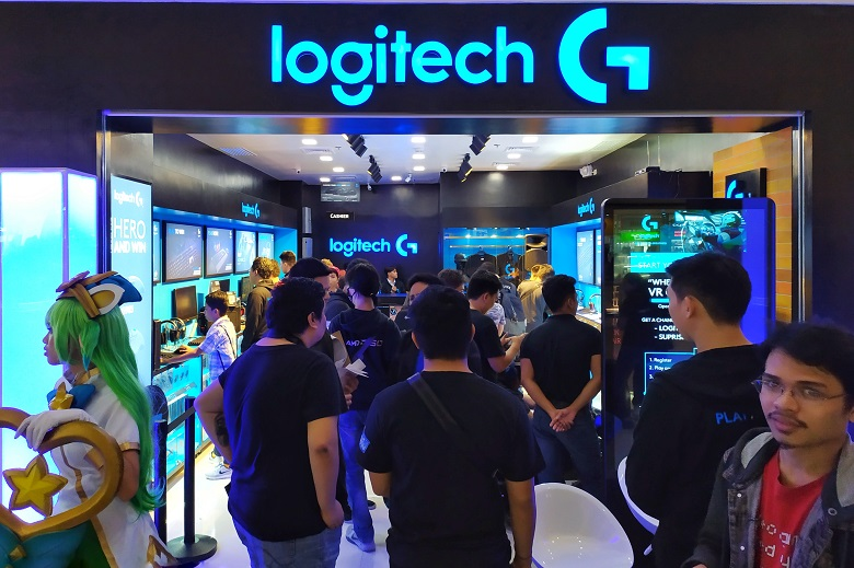 Logitech G Concept Store SM North EDSA Opening