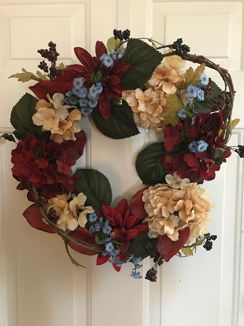 A Lovely Wreath, Living From Glory To Glory Blog...