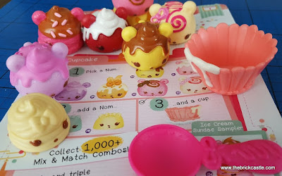 How to pile or stack Num Noms