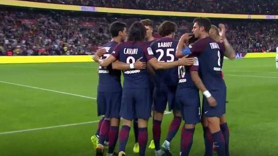 Psg Saint Etienne 3-0 Highlights