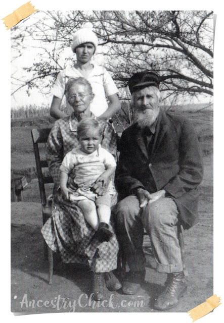 Jessie Kephart McPherson and Grandparents - Ancestry Chick