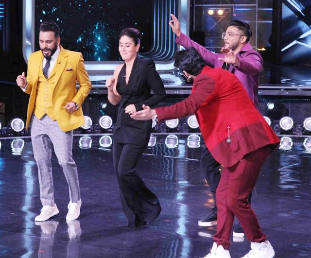 Kareena Kapoor Khan having fun on the sets of Dance India Dance