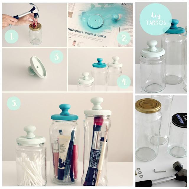 cómo personalizar frascos de vidrio