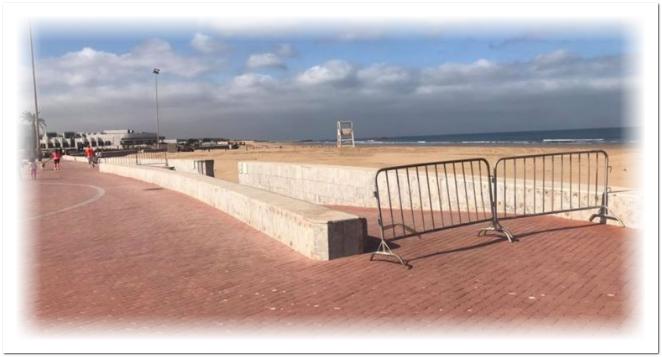 أكادير..إغلاق سوق الأحد و الشواطئ و الحدائق و إجراءات أكثر تشددا لمحاصرة الوباء بعد الارتفاع الصاروخي اليوم في عدد الحالات