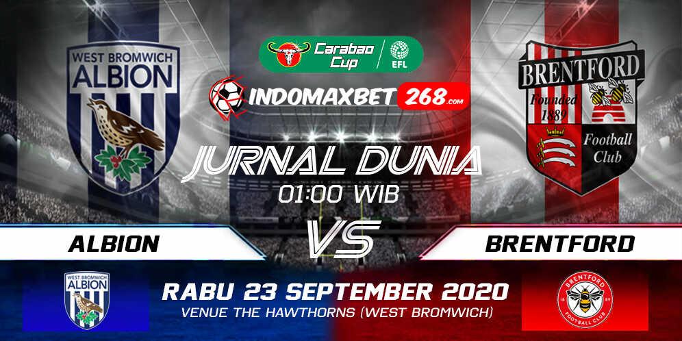 Prediksi West Bromwich Albion vs Brentford 23 September 2020 Pukul 01:00 WIB