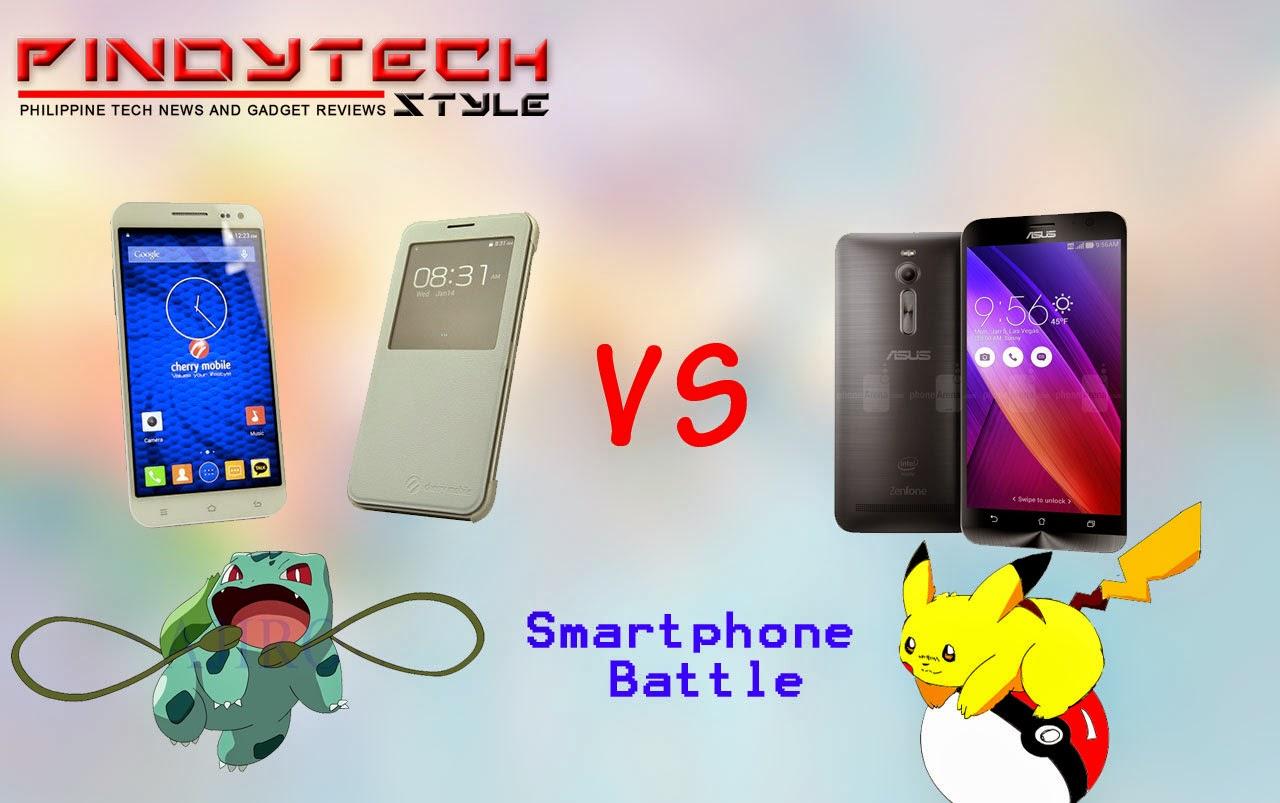 bab087e560a Technosisy  Smartphone Battle   Cherry Mobile Cosmos One vs ASUS ...