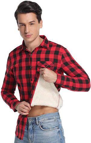 Best Red Men's Plaid Flannel Shirts