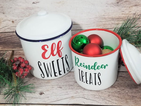 Free Christmas Canister SVG Cut Files