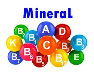 Pengertian Mineral, Macam-macam Mineral dan Manfaatnya