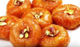 बालुशाही रेसिपी - Balushahi Recipe - How to Make Balushahi at Home , Balushahi