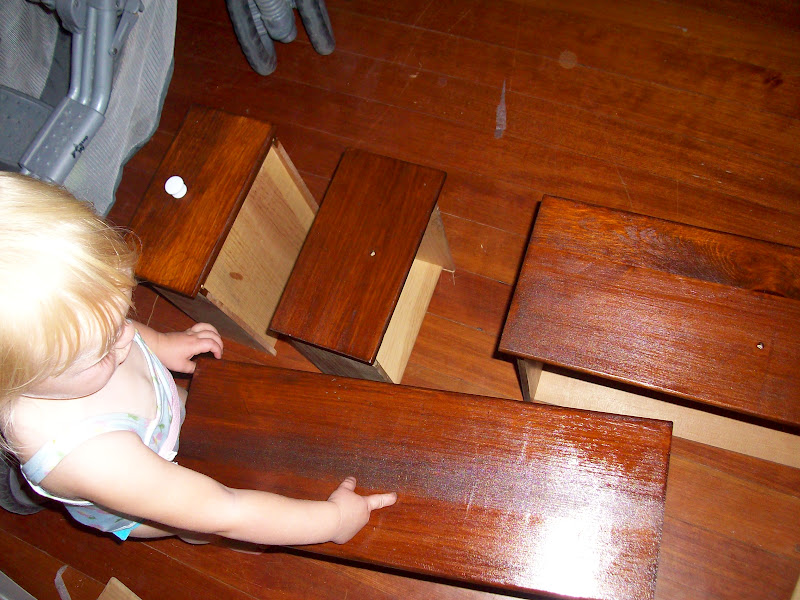 The Other Dresser On Hand Had A Wood Face Frame And Drawers Were But Top Sides Veneered Particle Board That Was Badly