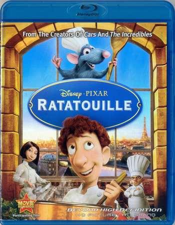 Poster Of Ratatouille 2007 English 300MB BRRip 480p ESubs Free Download Watch Online Worldfree4u