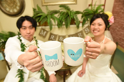 Bride Groom Cups