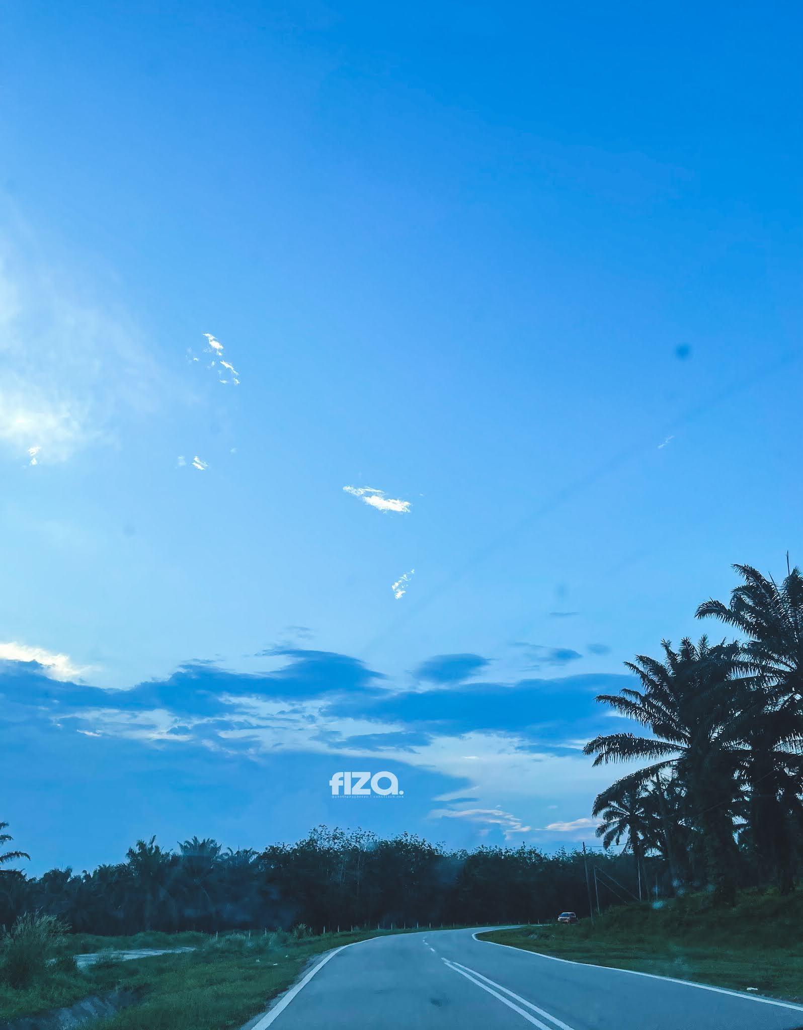 Awan Biru Senja
