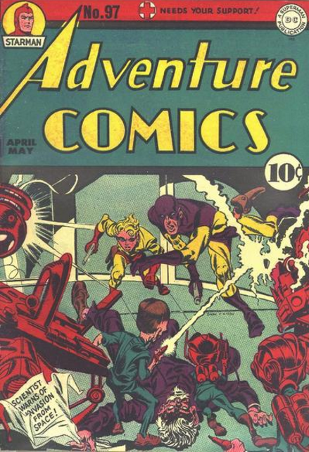 Adventure Comics Jack Kirby