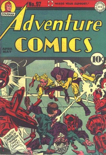 Adventure Comics Jack Kirby