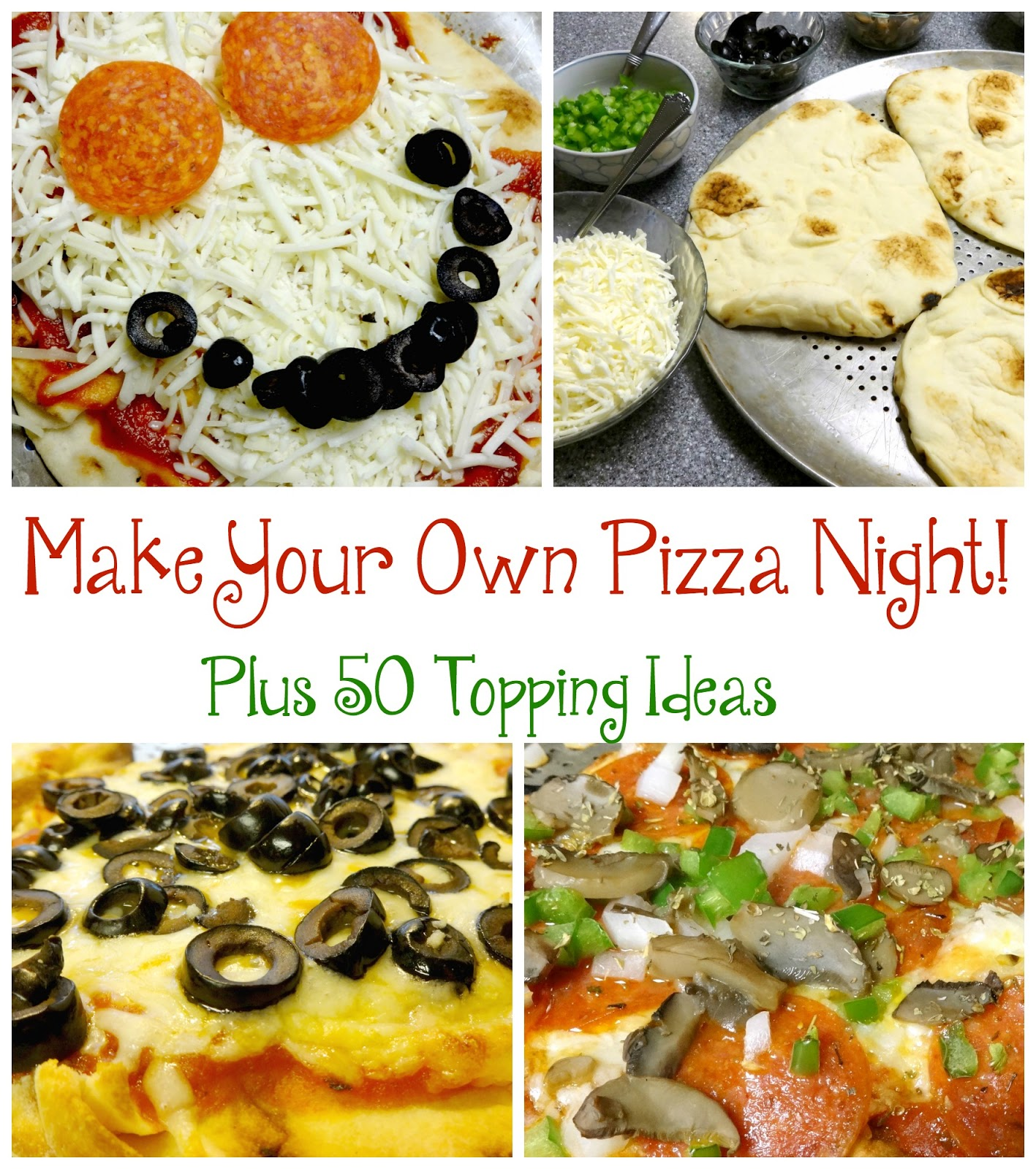 Sparkle And Splatter Make Your Own Pizza Night Plus 50