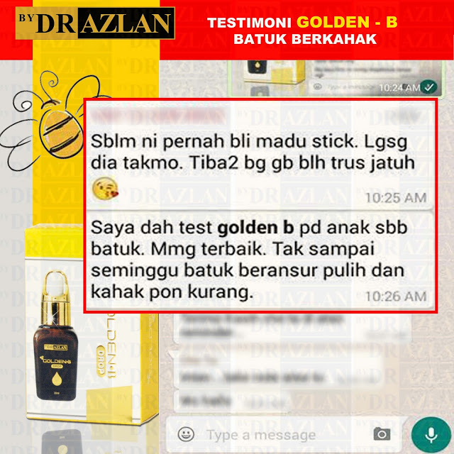 testimoni Golden-B bydrazlan